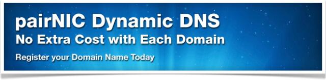 pairNIC Dynamic DNS
